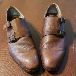 Robert Wayne Shoes Luther Oxford Monk-Strap 8.5